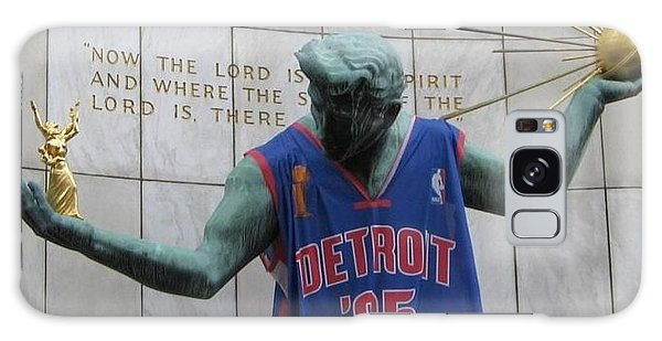 Spirit Of Detroit Piston Galaxy Case