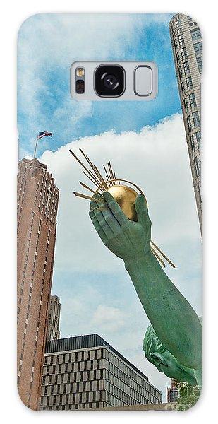 Spirit Of Detroit's Left Hand Galaxy Case