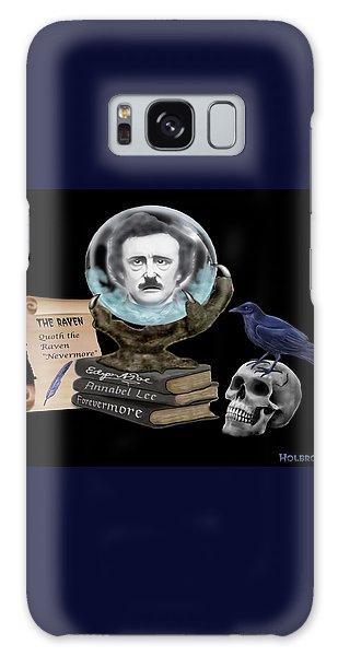 Spirit Of Edgar A. Poe Galaxy Case by Glenn Holbrook
