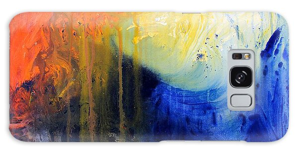 Spirit Of Life - Abstract 7 Galaxy Case by Kume Bryant
