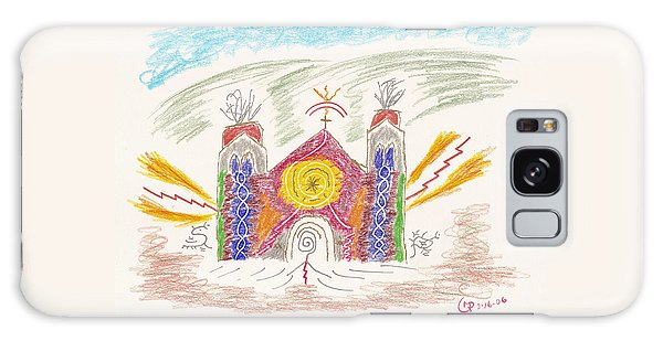 Spirit Of St Francis Galaxy Case