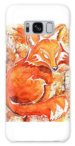 Spirit Of The Fox Galaxy Case by D Renee Wilson