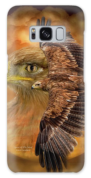 The Eagles Galaxy Case - Spirit Of The Wind by Carol Cavalaris