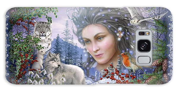 Gypsy Galaxy Case - Spirit Of Winter Variant I by Ciro Marchetti