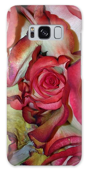 Spirited Rose  Galaxy Case