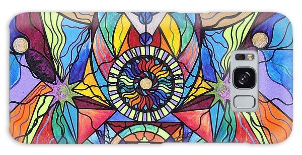 Beautiful Galaxy Case - Spiritual Guide by Teal Eye Print Store