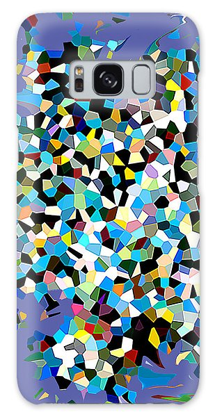 Galaxy Case featuring the digital art Splash by Eleni Mac Synodinos