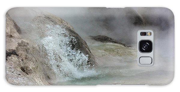 Splash From Grotto Geyser Galaxy Case