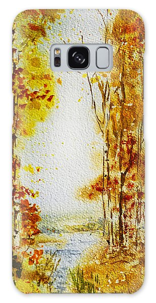 Outdoor Dining Galaxy Case - Splash Of Fall by Irina Sztukowski