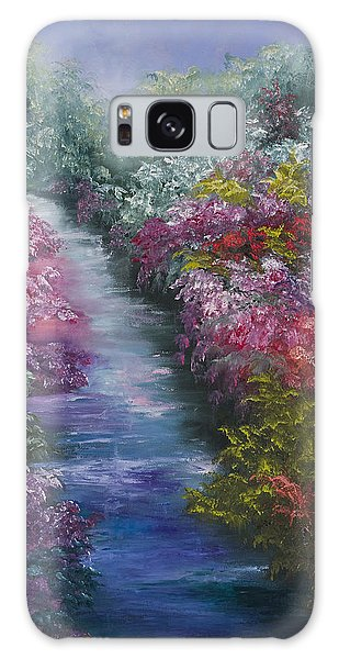 Splash Of Spring Galaxy Case by Darice Machel McGuire