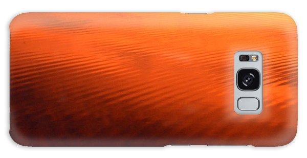 Splash Of Sunset  Galaxy Case