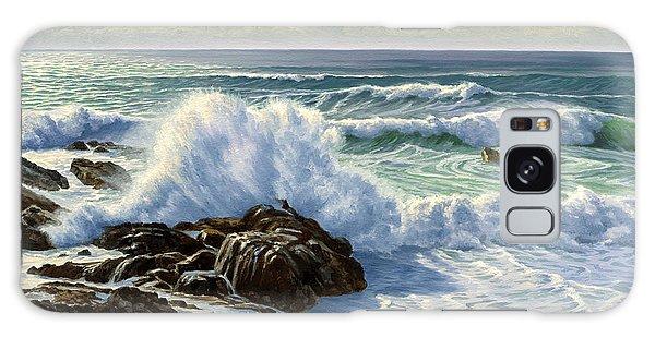 California Galaxy Case - Splash Seascape by Paul Krapf