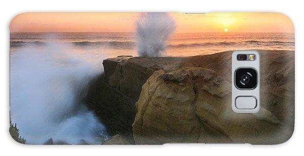 Splash Sunset  Galaxy Case