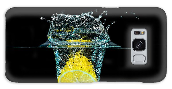 Splashing Lemon Galaxy Case