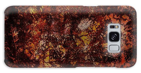 Splattered  Galaxy Case