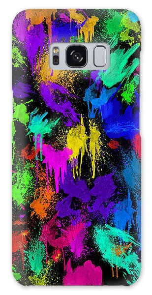 Splattered One Galaxy Case