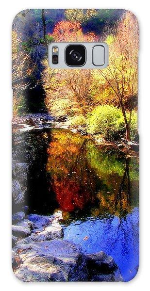 Splendor Of Autumn Galaxy Case