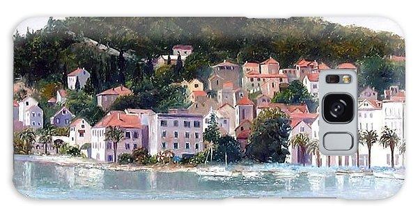 Split Harbour Croatia Galaxy Case