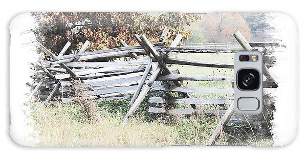 Split-rail Fence Gettysburg Galaxy Case