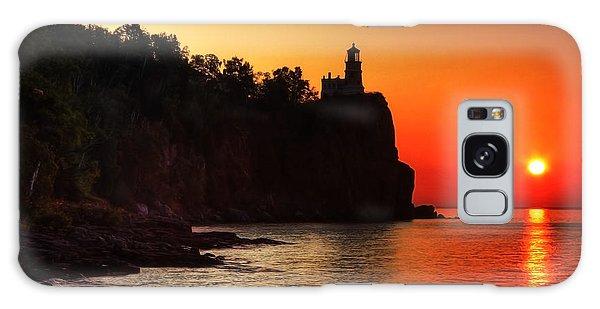 Split Rock Lighthouse - Sunrise Galaxy Case
