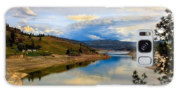 Haybale Galaxy Case - Spokane River by Robert Bales