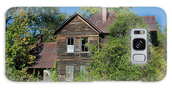 Spooky Old House Galaxy Case