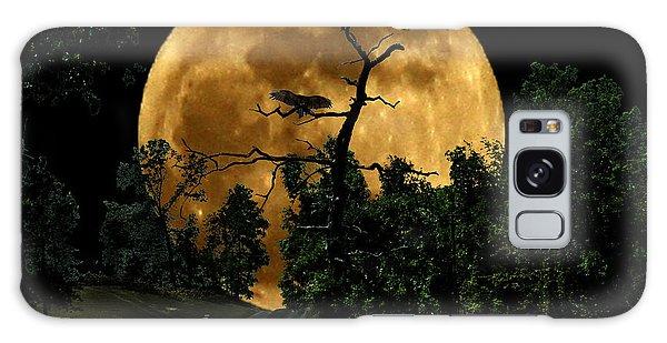Spooky Road Galaxy Case