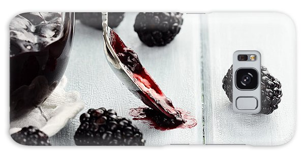 Spoon And Blackberry Jam Galaxy Case