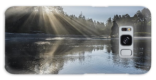 Spoon Of Morning Light Galaxy Case by Jon Glaser