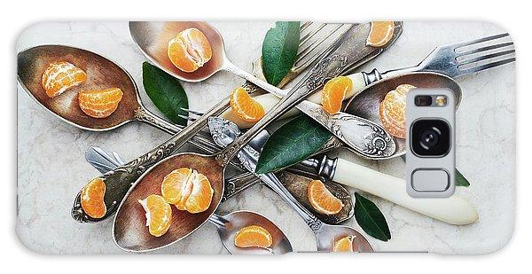 Metal Leaf Galaxy Case - Spoons&tangerines by Aleksandrova Karina