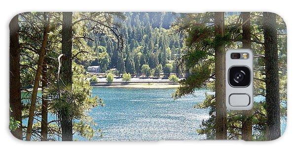 Forrest Mountain Trees Lake Scenic Photography Lake Gregory San Bernardino California - Ai P. Nilson Galaxy Case