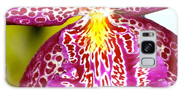 Spotted Orchid Galaxy Case by Lehua Pekelo-Stearns