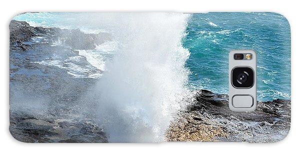 Spouting Horn In Kauai Galaxy Case by P S