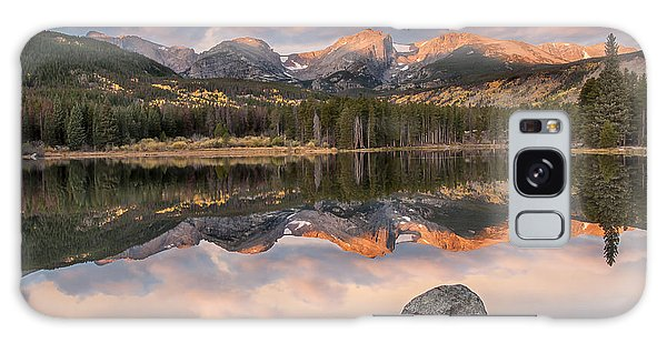 Sprague Lake Sunrise 2 Galaxy Case