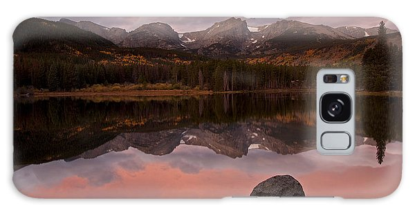Sprague Lake Sunrise Galaxy Case