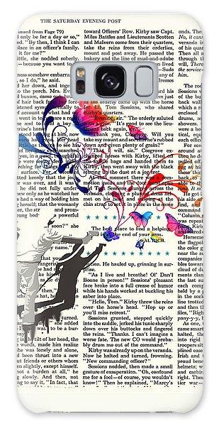 Spray Natura Graffiti Art Print Galaxy Case