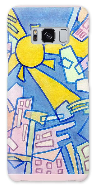 Summer In The City  Galaxy Case