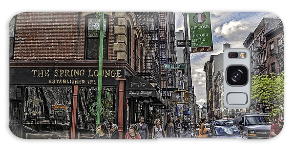 Spring And Mulberry - Street Scene - Nyc Galaxy Case