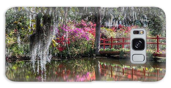 Spring At Magnolia Plantation 1 Galaxy Case