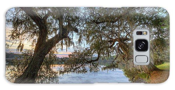 Spring At Magnolia Plantation 7 Galaxy Case