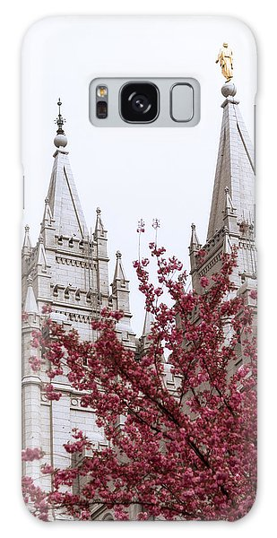 The Sky Galaxy Case - Spring At The Temple by Chad Dutson