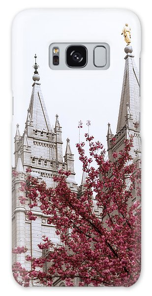 Temple Galaxy Case - Spring At The Temple by Chad Dutson