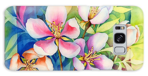 Blossoms Galaxy Case - Spring Ballerinas by Hailey E Herrera