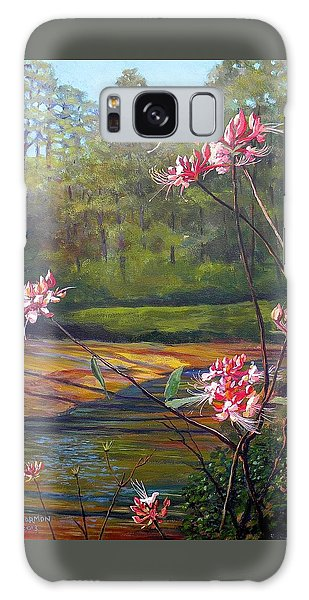 Spring Blooms On The Natchez Trace Galaxy Case by Jeanette Jarmon