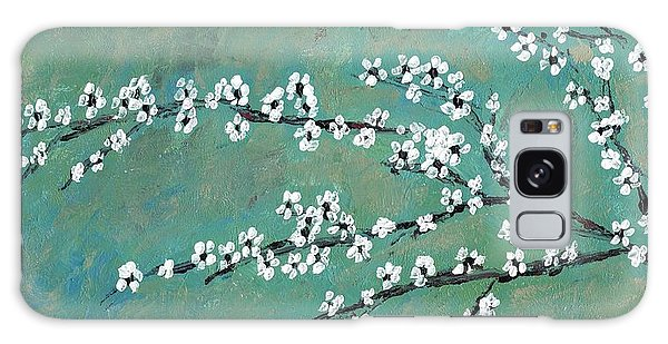 Spring Blossom Galaxy Case by David Dossett