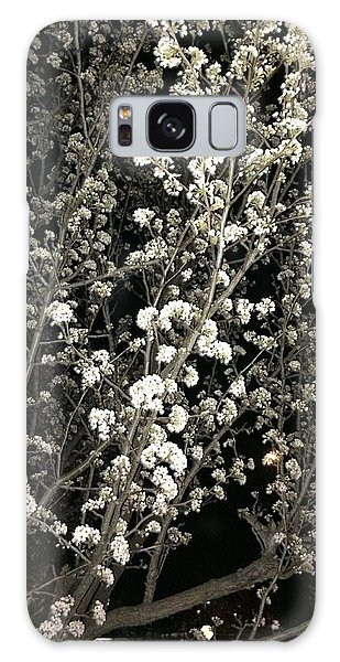 Spring Blossoms Glowing Galaxy Case