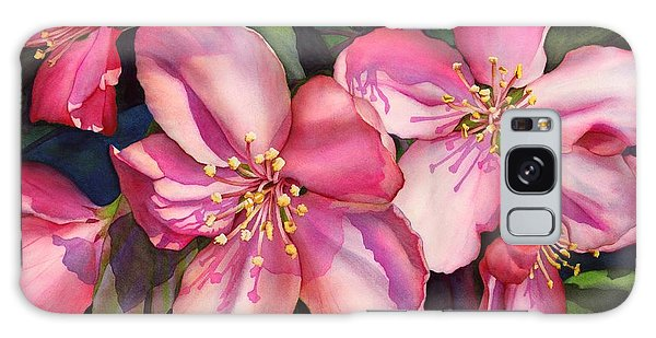 Blossoms Galaxy Case - Spring Blossoms by Hailey E Herrera