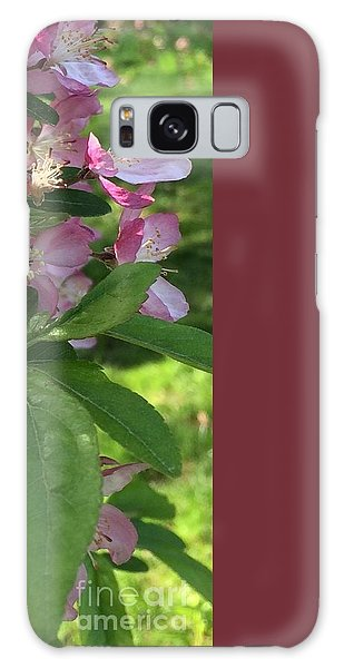 Spring Blossoms - Flower Photography Galaxy Case by Miriam Danar