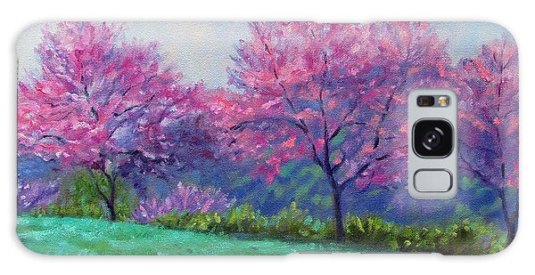 Spring Blossoms On Mill Mountain Galaxy Case