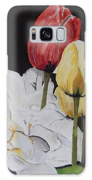 Spring Bouquet Galaxy Case by Betty-Anne McDonald